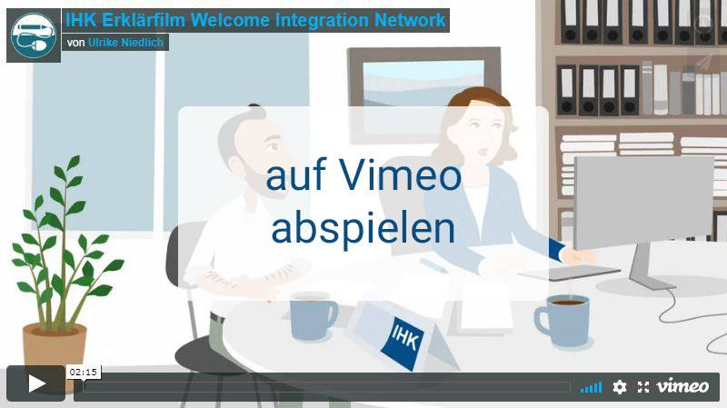 Video IHK Welcome Integration Network